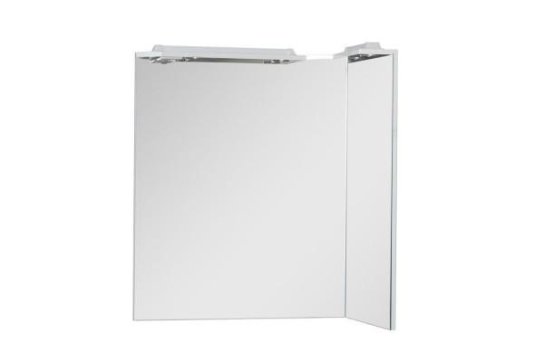 Зеркало Aquanet Корнер 88 R белый